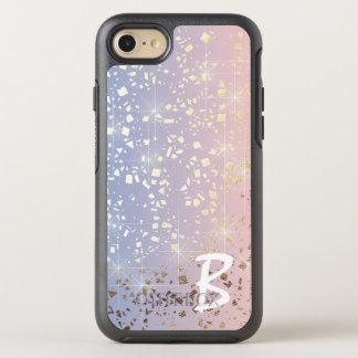 Gold Star Foil Sparkle Rose Quartz Serenity Blue OtterBox Symmetry iPhone 7 Case
