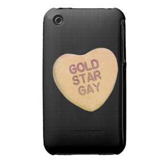 GOLD STAR GAY CANDY -.png iPhone 3 Case-Mate Case