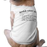 GOLD-STAR GAY PET TEE SHIRT