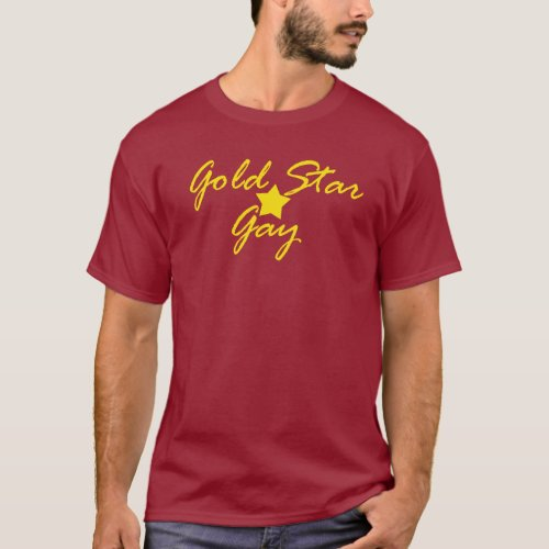 GOLD STAR GAY T-Shirt