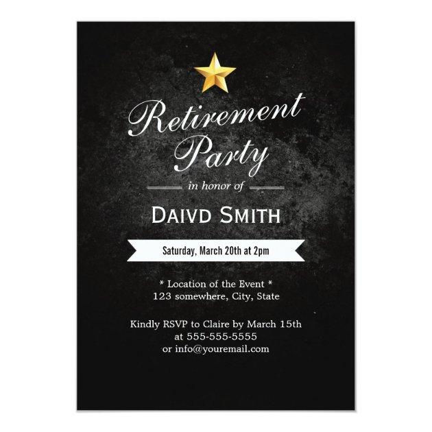 Personalized Military retirement Invitations – Military Retirement Party Invitations