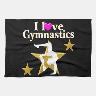 GOLD STAR GYMNAST TOWEL