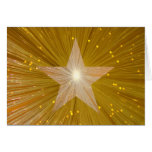 Gold Star 'Happy Birthday' greetings card