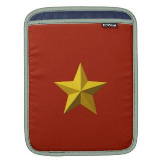 Gold Star iPad Sleeve