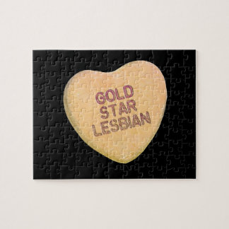 GOLD STAR LESBIAN CANDY - png Jigsaw Puzzle
