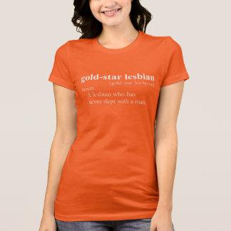 GOLD STAR LESBIAN T-Shirt