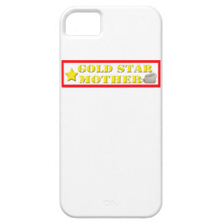 Gold Star Mother - 1 Star IPhone 5 Case