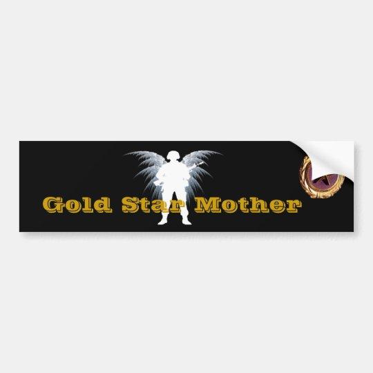 Gold Star Mother Bumper Sticker