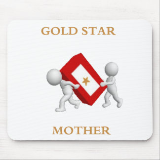 Gold Star Mother mouse pad