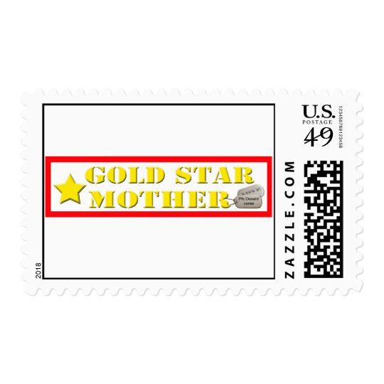 Gold Star Mother Postage Stamps