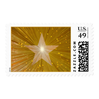 Gold Star postage stamp