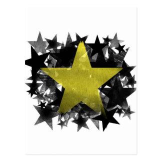 Gold Star Postcard