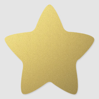 Gold Star Seals And Stickers