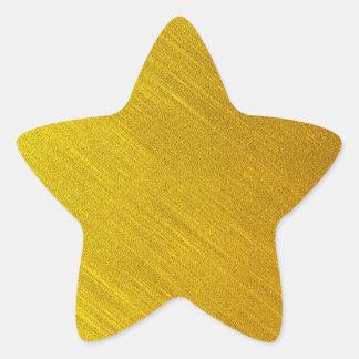 Gold Star Seals Star Sticker