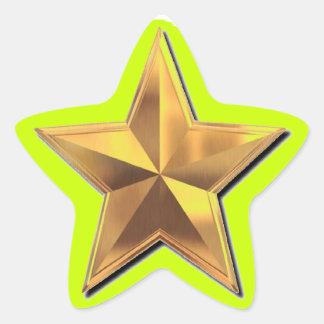 Gold Star-Star Stickers