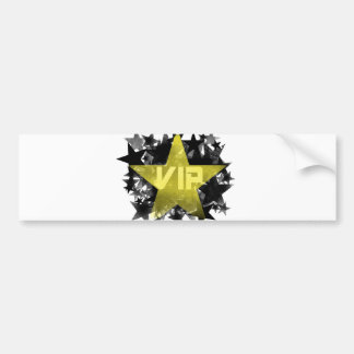 Gold Star VIP Bumper Sticker