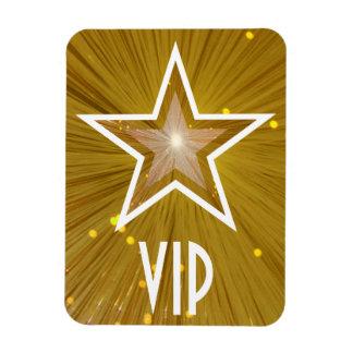 """Gold"" Star 'VIP' flexible magnet"