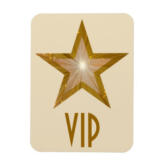 """Gold"" Star 'VIP' flexible magnet cream"