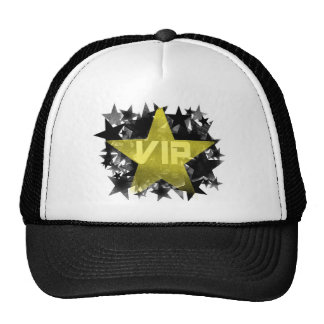 Gold Star VIP Mesh Hat