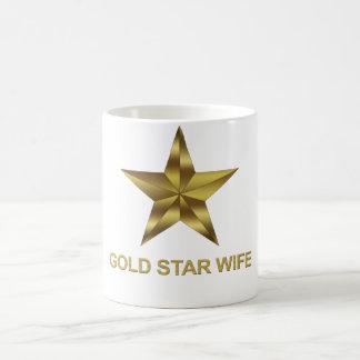 Gold Star Wife Coffee Mug