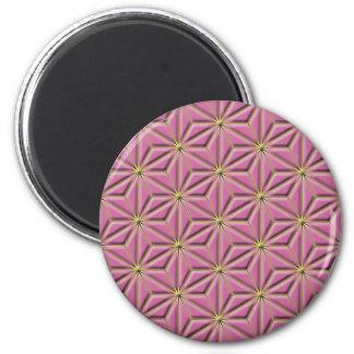 gold stars 2 inch round magnet