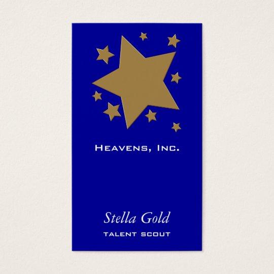 Gold Stars Business Card