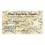 Gold Stars Double-Sided Standard Business Cards (Pack Of 100)