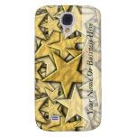 Gold Stars Galaxy S4 Cases