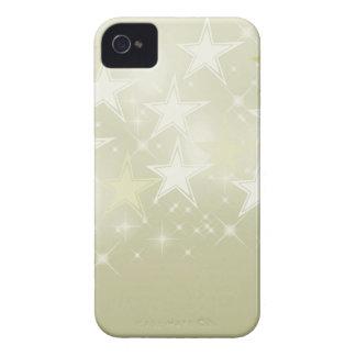 Gold Stars iPhone 4 Case-Mate Case