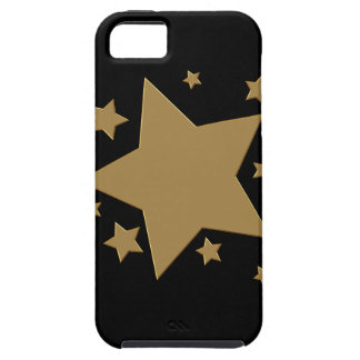Gold Stars iPhone 5 Case