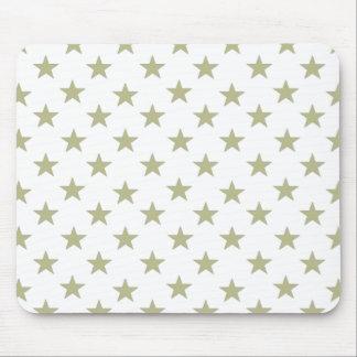 Gold Stars Mousepad