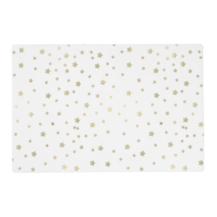 Gold Stars Placemat at Zazzle