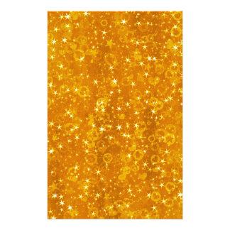 Gold Stars Stationery