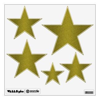 Gold Stars Wall Sticker