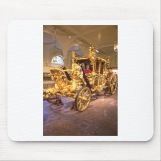 Gold State Coach London Mouse Pad