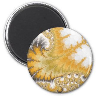 Gold Stingray Magnet