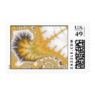 Gold Stingray Postage Stamp
