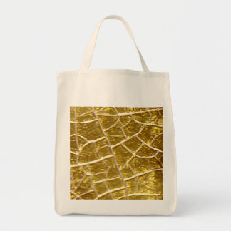 Gold stone cracks Bag