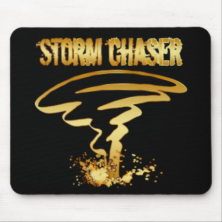 GOLD STORM CHASER MOUSE PAD
