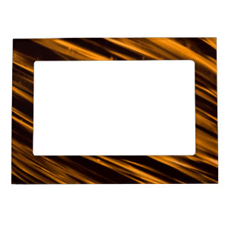Gold Streaks Magnetic Picture Frames