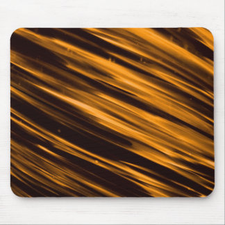 Gold Streaks Mouse Pad