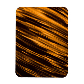 Gold Streaks Rectangle Magnets