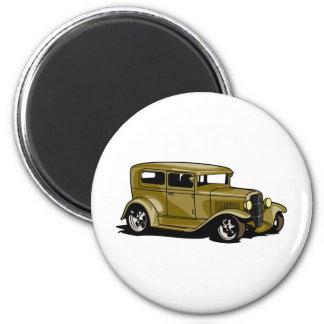 Gold Street Rod Magnets