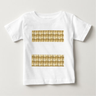GOLD Strip BLANK Template easy write GREETING TEXT Tee Shirt