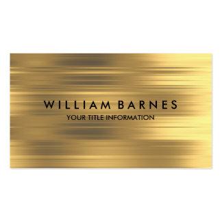 Gold Stripe Business Card