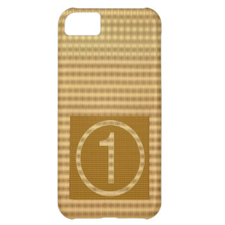 GOLD Stripe - Give away NUMBER ONE Gift iPhone 5C Cases