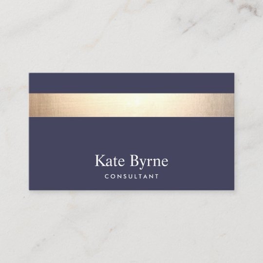 Gold striped modern stylish navy blue business card zazzle gold striped modern stylish navy blue business card colourmoves