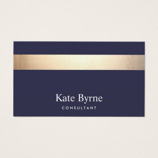 Gold striped modern stylish navy blue business card zazzle gold striped modern stylish navy blue business card colourmoves Gallery