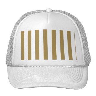 Gold Stripes (Add 2nd Color) Mesh Hat