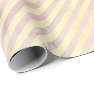 gold stripes pink rose blush marble abstract vip wrapping paper